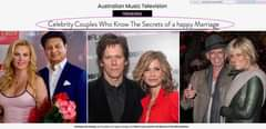 Возможно, это изображение (6 человек и текст «+POTECTEO Ponen_onoA692 Australian Music Television TRENDING Celebrity Couples Who Know The Secrets of Disconne TAKING CHANDE happy Marriage BOF kindness and honesty and your partner discuss 1th little problems.»)
